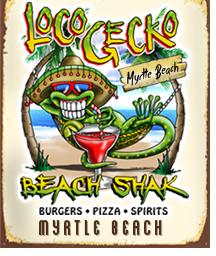 Loco Gecko Beach Shak Logo